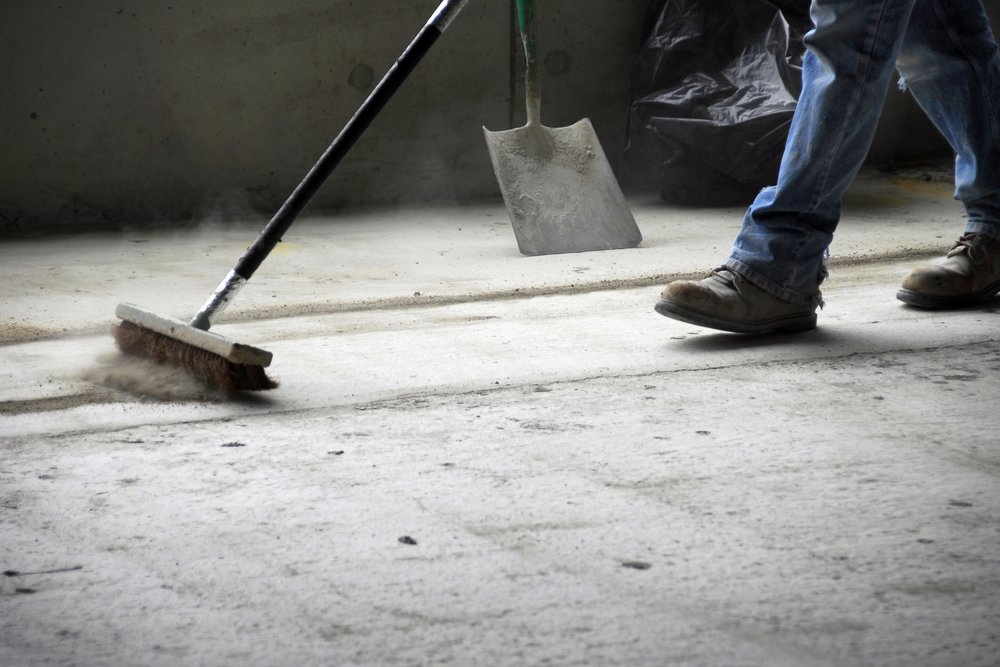 Check out our amazing construction clean up services.